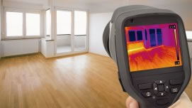 Infrared water leak detection