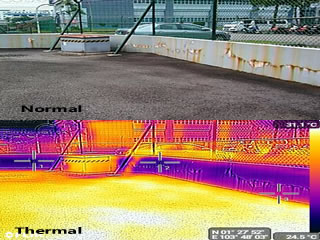 Thermal Water Leakage Diagnosis