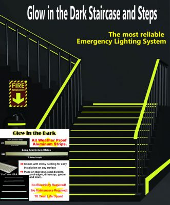 Glow Staircase Advert
