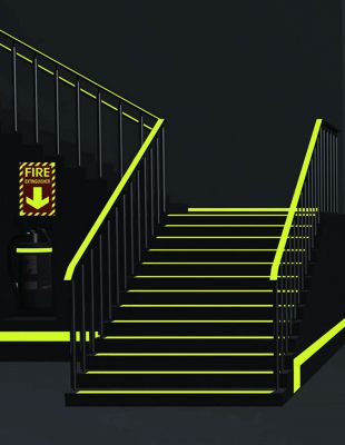 Glow-Staircase